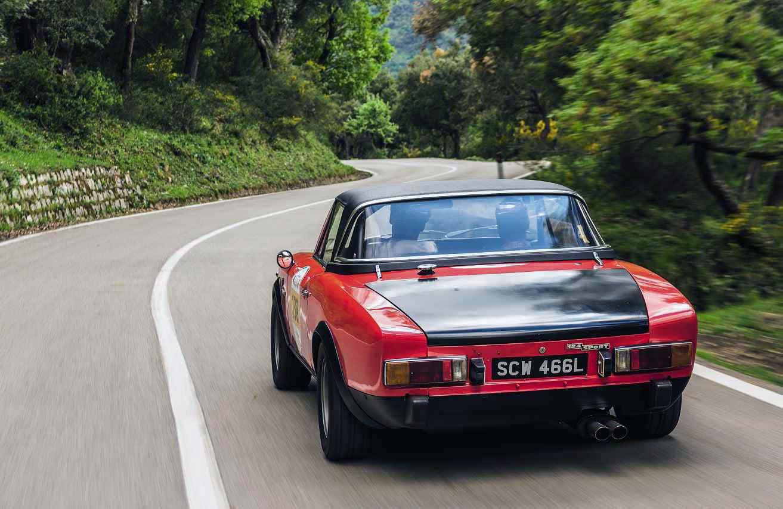 1972 Abarth 124 Spider driven