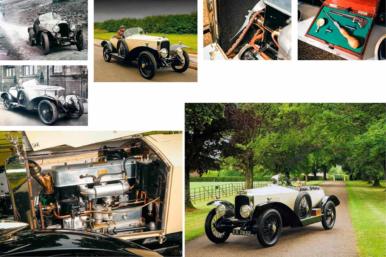 Vintage supercar tested 1924 Vauxhall 30-98 Type OE Boattail Wensum Tourer