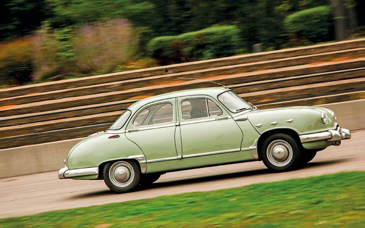 1955 Panhard Dyna Z road test