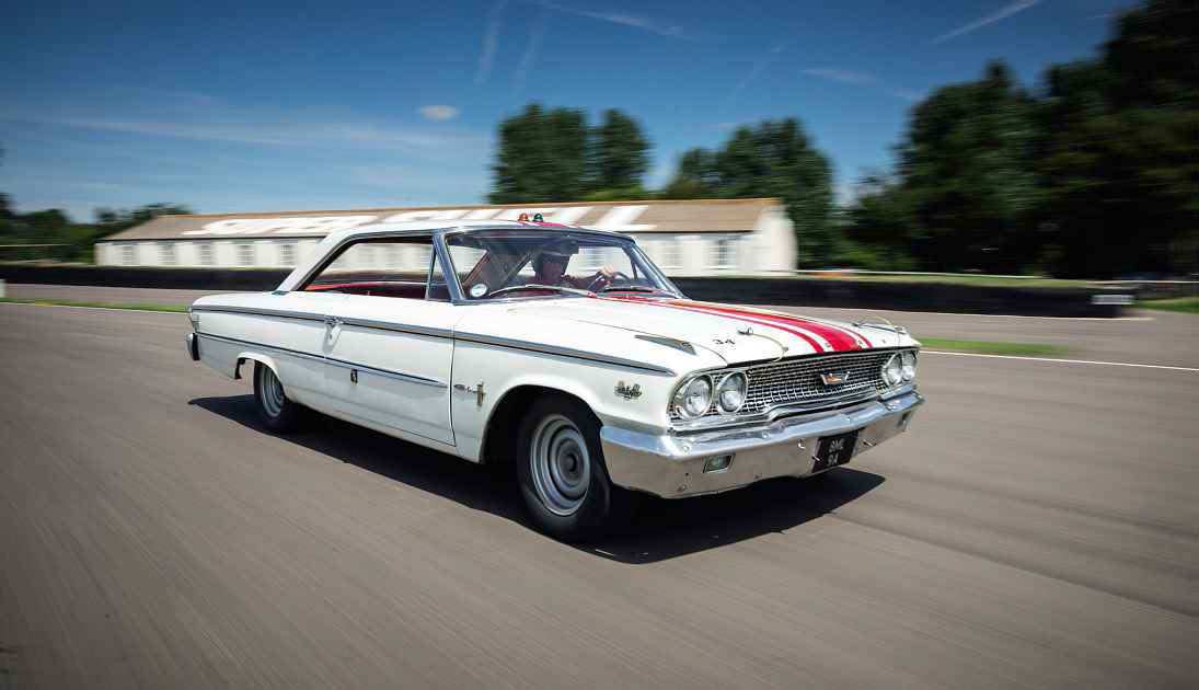 Jack Sears' 1963 Ford Galaxie 500 driven