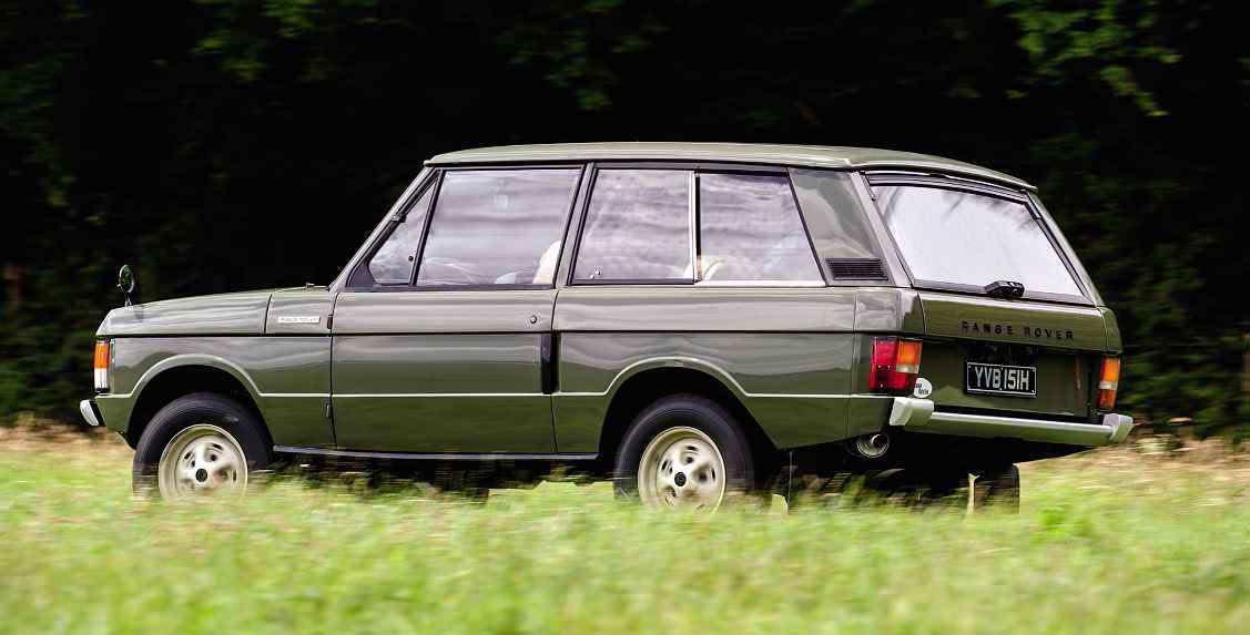 Original 1969 Range Rover Velar