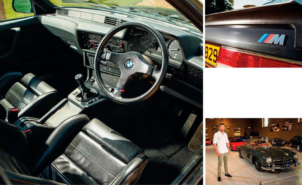 1985 BMW M635CSi E24 interior RHD