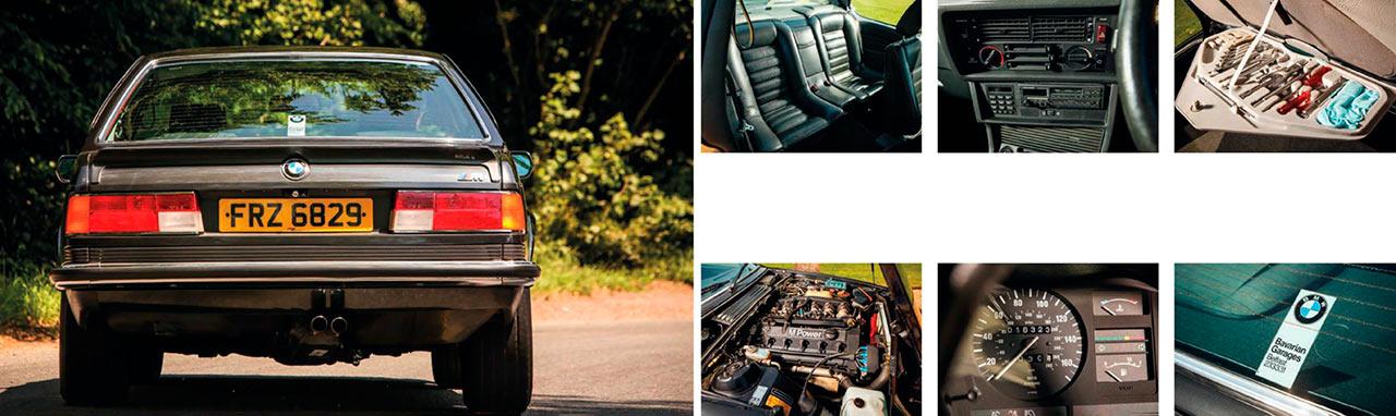 1985 BMW M635CSi E24 RHD test drive