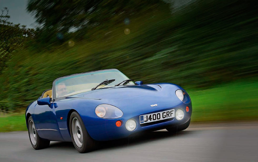 TVR Griffith road test