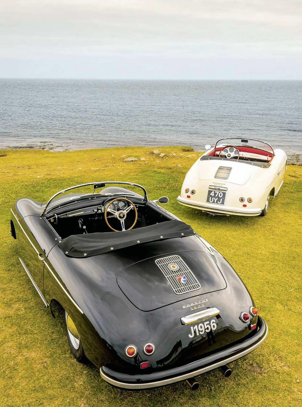 Porsche 356 1500 and 356 Carrera GT Speedster