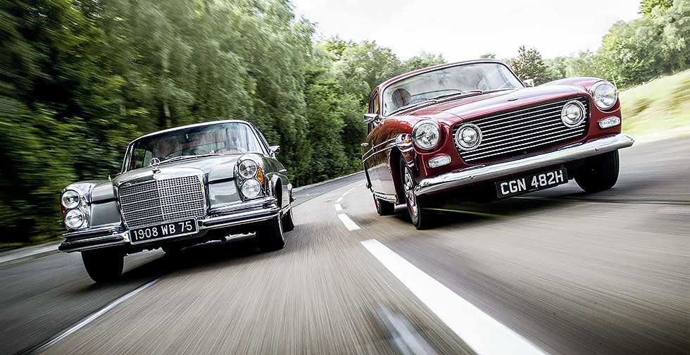 Bristol 410 vs. Mercedes-Benz 280 SE 3.5 Coupé W111