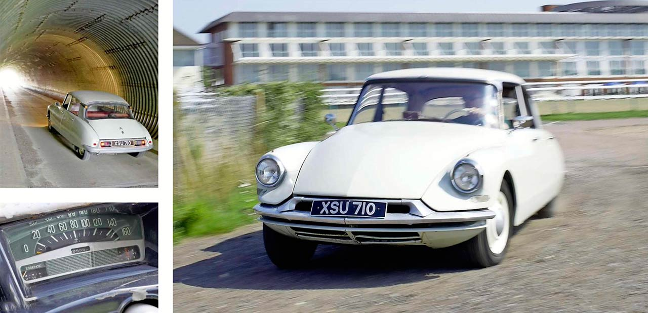 1962 Citroen ID19 road test
