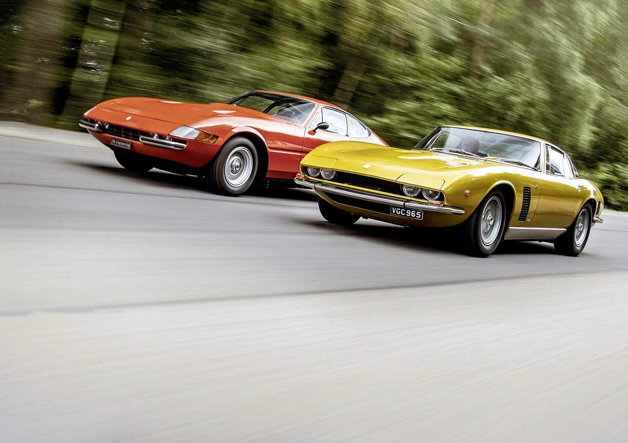 Iso Grifo GL365 vs. Ferrari 365 GTB/4 Daytona