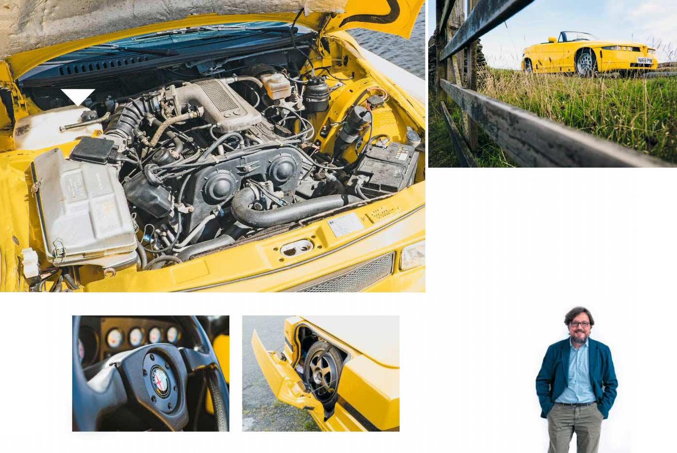 1992 Alfa-Romeo RZ interior