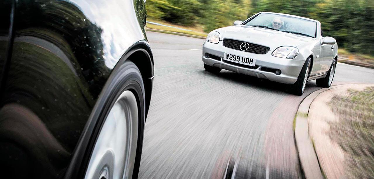 2000 Mercedes-Benz SLK 230K R170 road test