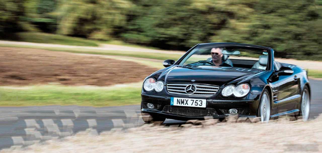 2003 Mercedes-Benz SL55 AMG road test