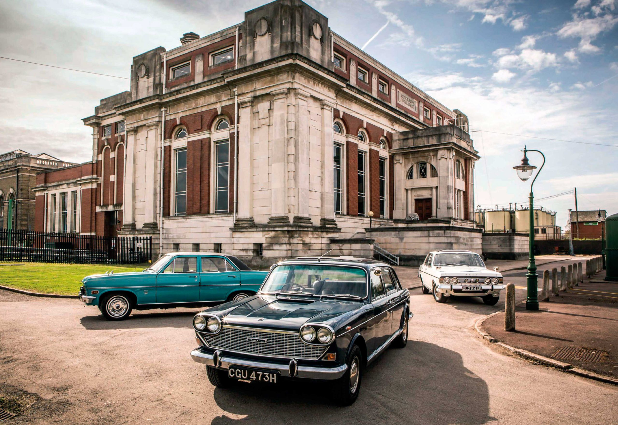 Austin 3 Litre vs. Ford Executive and Vauxhall Viscount