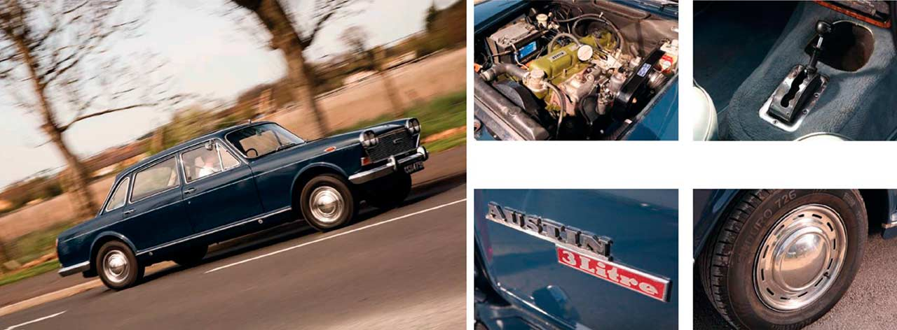 Austin 3 Litre road test