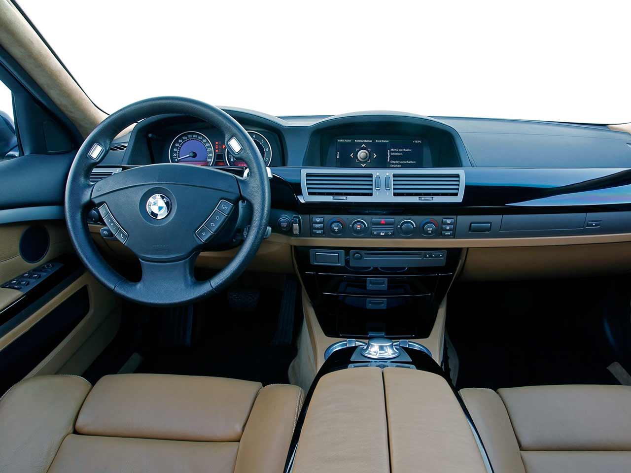BMW 760Li E66 LWB-version interior LHD