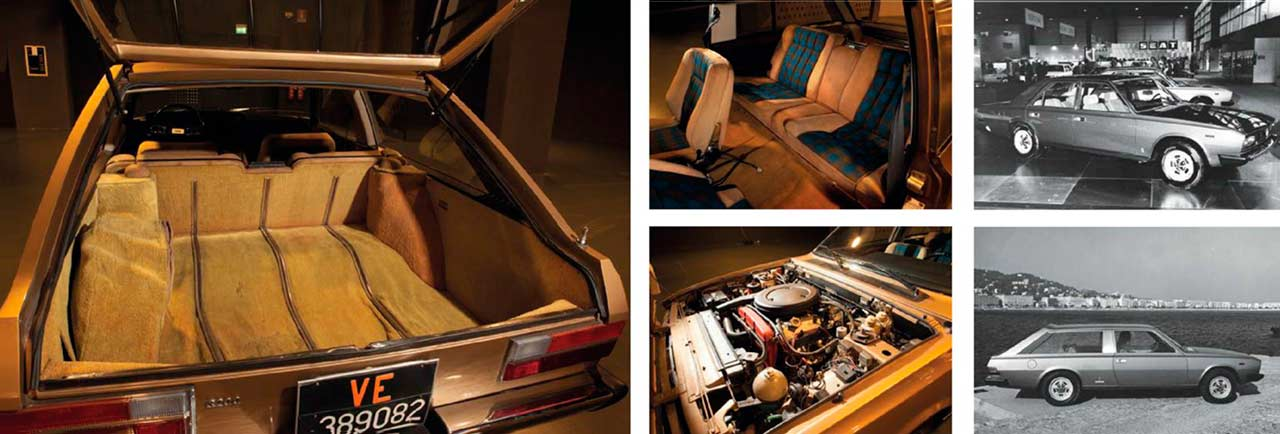 Fiat 130 Shooting Brake interior