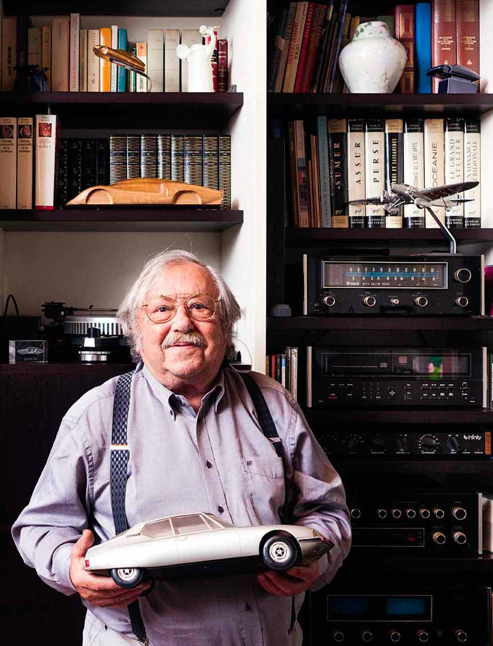 Robert Opron Giant of French car design interviewed