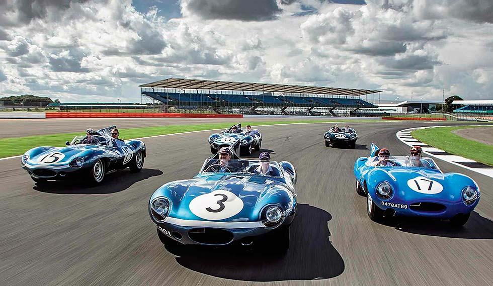 1957 Jaguar D-Types