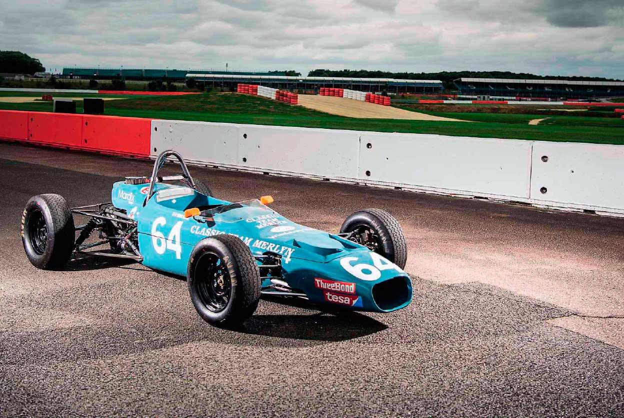 1970 Merlyn Mk17 Formula Ford 1600 track test
