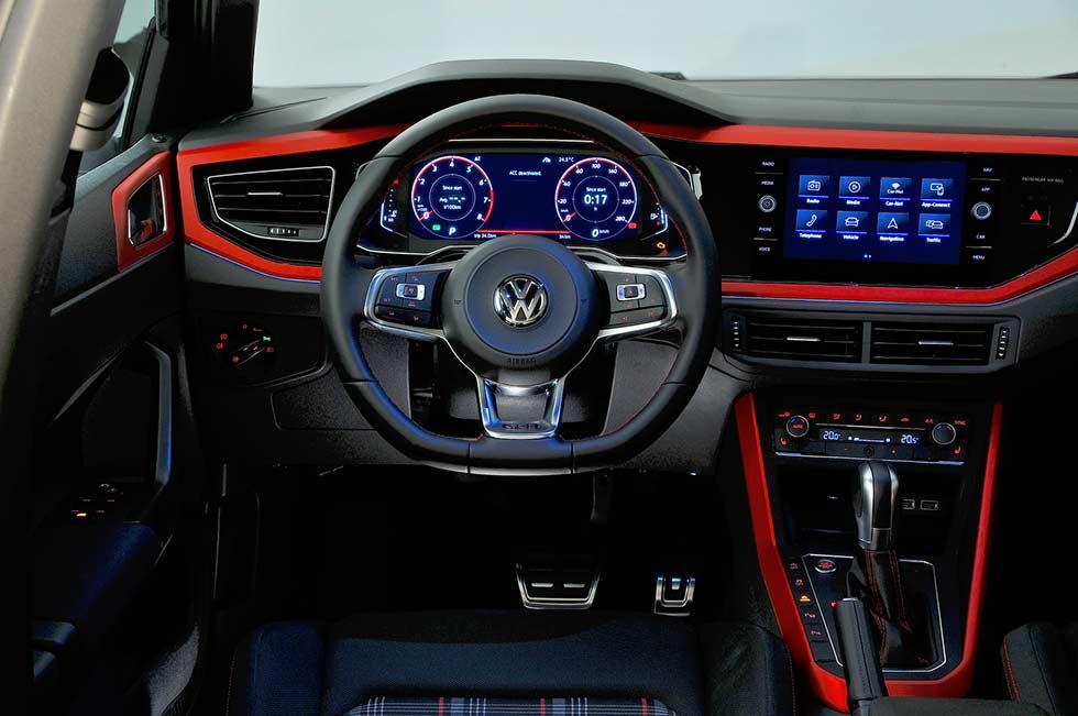 2018 Volkswagen Polo Polo GTi Mk6 MY18-Type interior