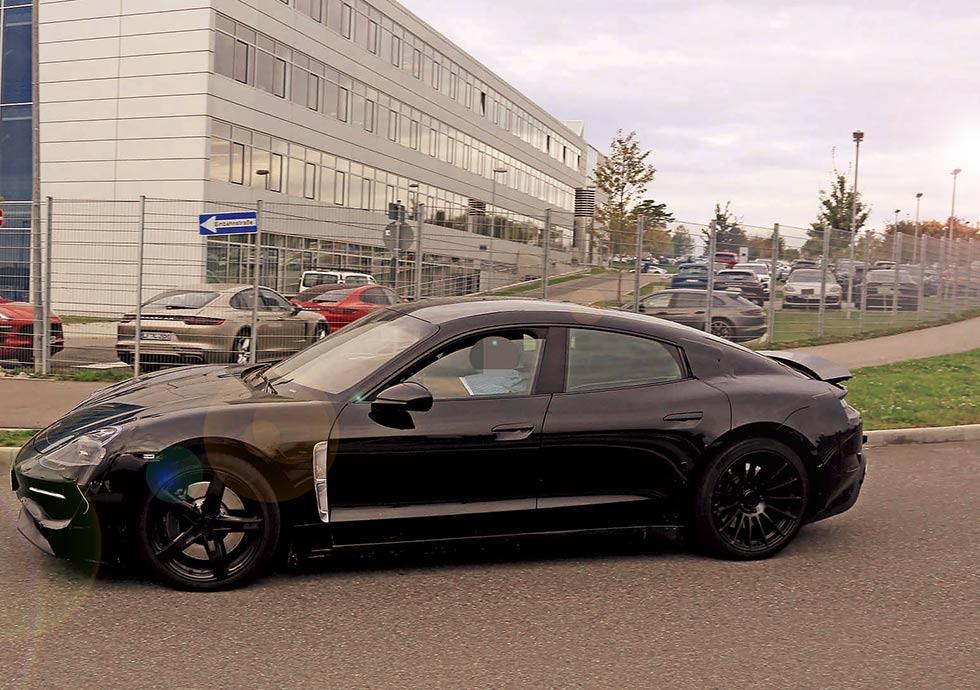 Porsche's Project Mission E first pure-electric car