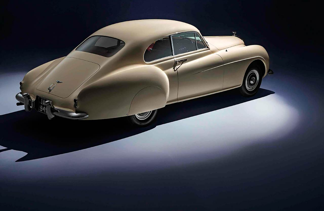 1953 Bentley R Type Continental Fastback 3/4 rear