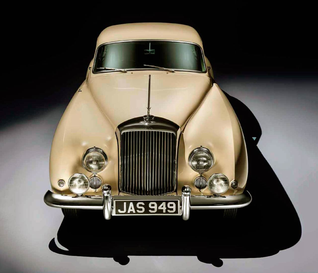 1953 Bentley R Type Continental Fastback front