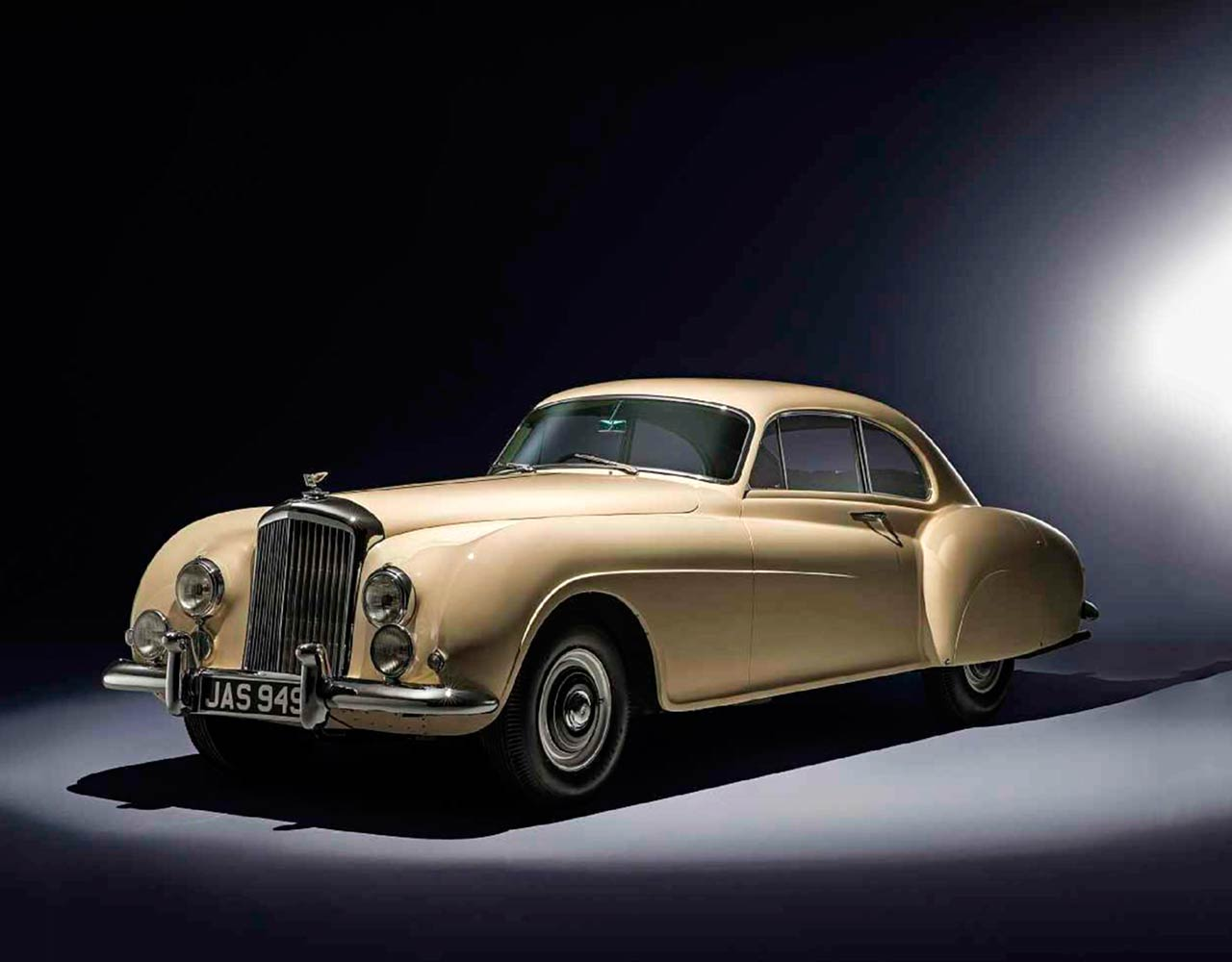 1953 Bentley R Type Continental Fastback 3/4
