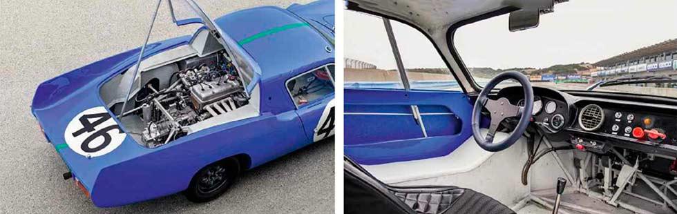 1964 Alpine M64 track & road test