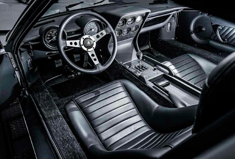 1967 Lamborghini Miura P400 interior