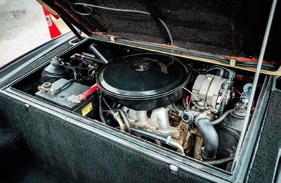 1973 Chevrolet Corvette XP 897 GT Two Rotor Concept engine