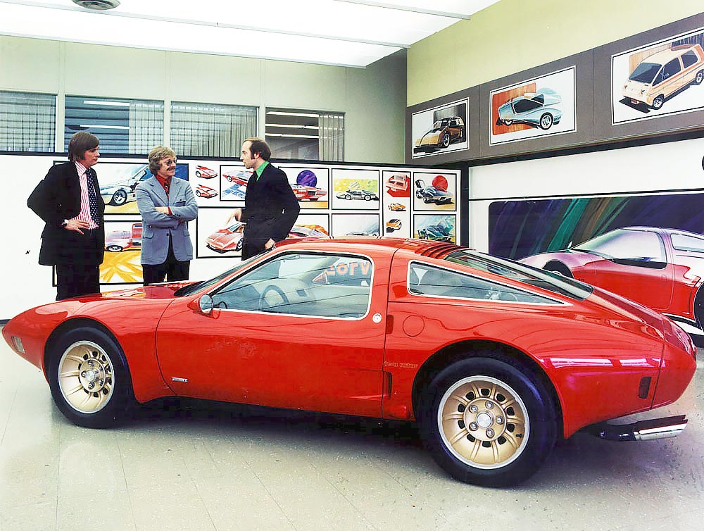 1973 Chevrolet Corvette XP 897 GT Two Rotor Concept driven