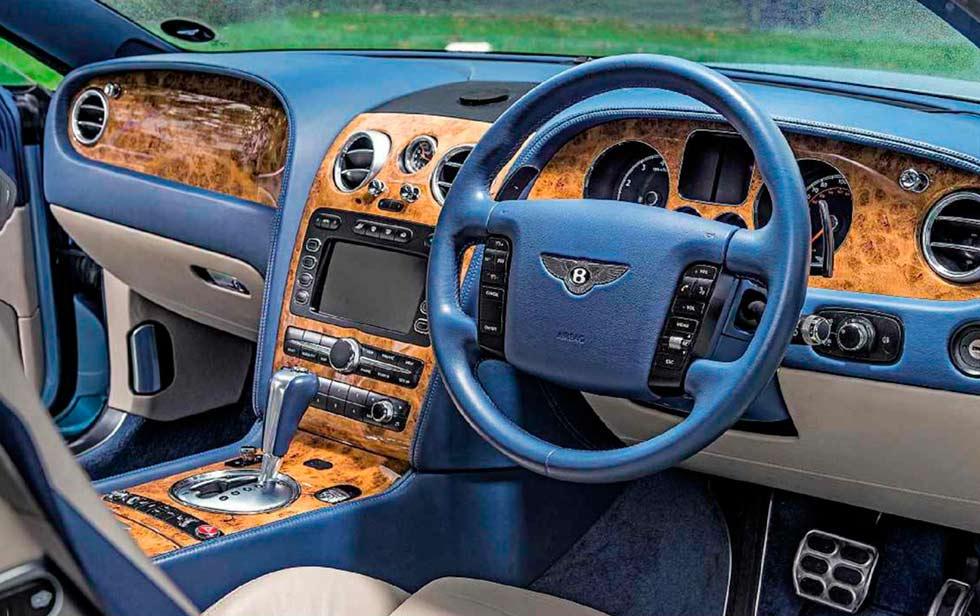 2003 Bentley Continental GT W12 6.0 interior