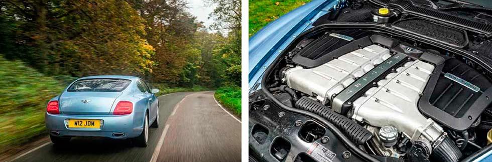 2003 Bentley Continental GT W12 6.0 engine