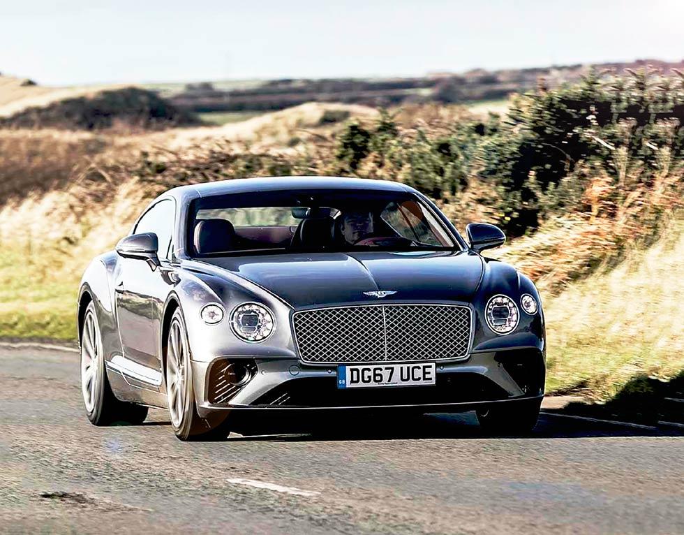 2018 Bentley Continental GT road test