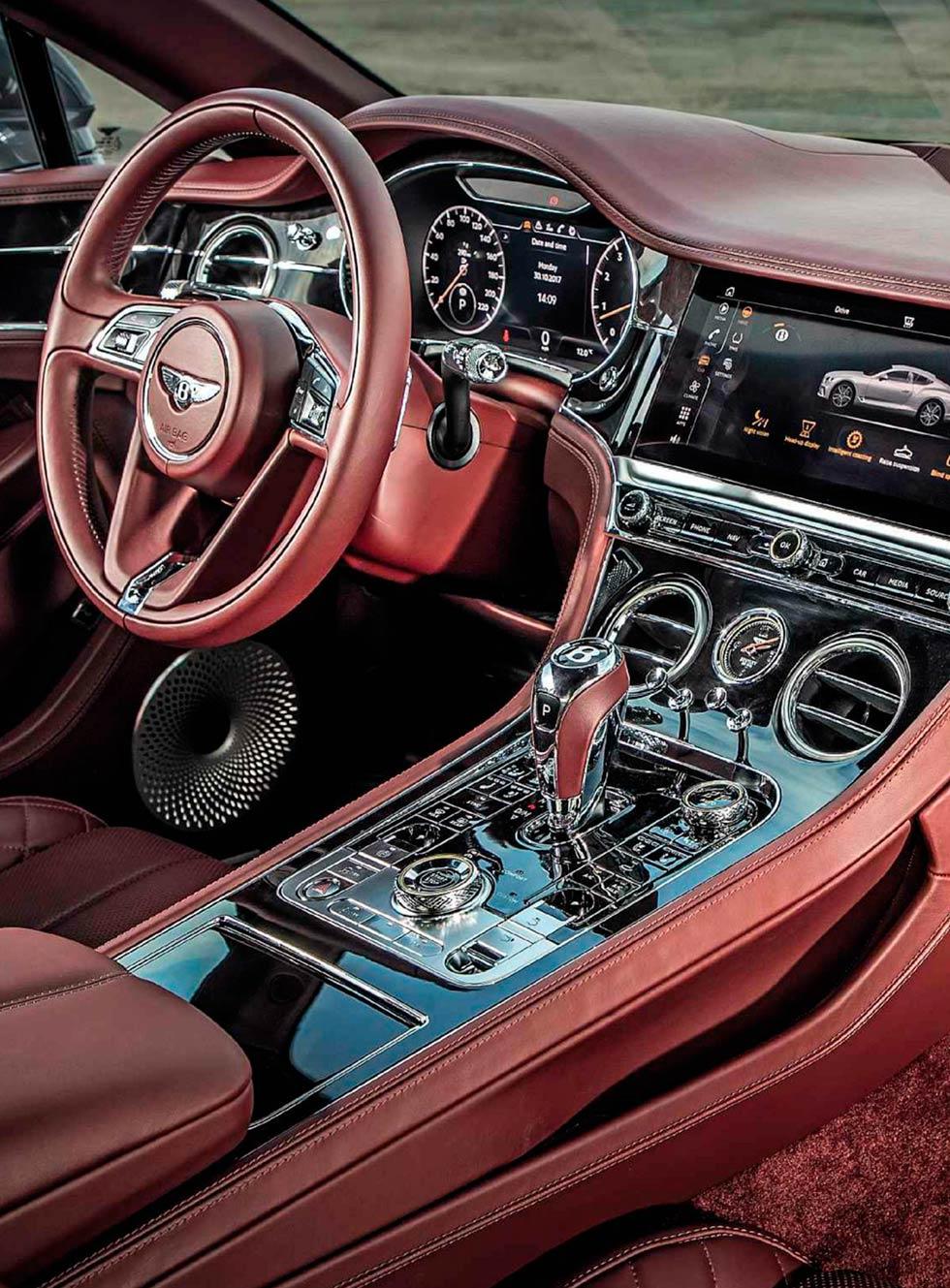 2018 Bentley Continental GT interior