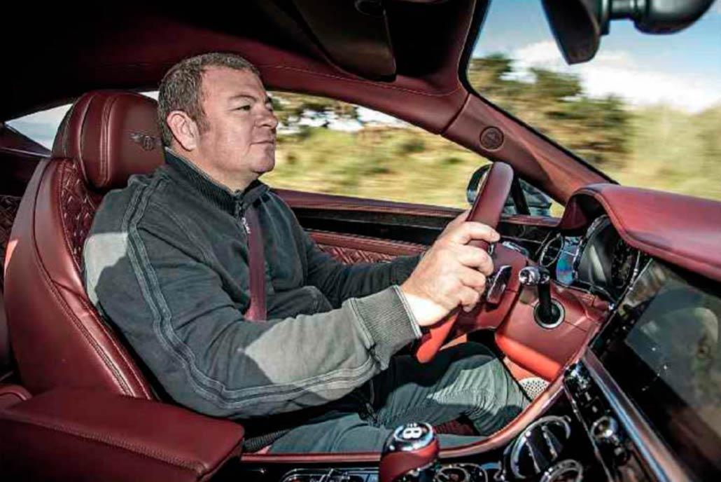 2018 Bentley Continental GT driven