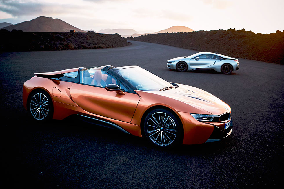 2018 BMW i8 Roadster & Coupe