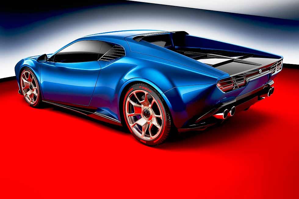De Tomaso Pantera Reborn As Huracan-based Ares Design Project Panther