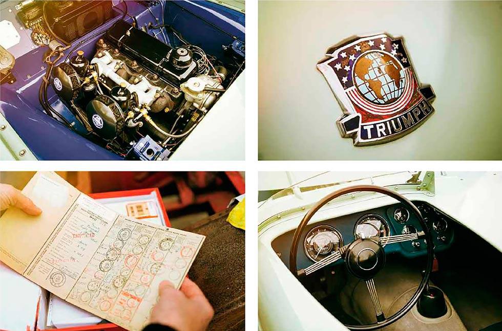 1953 Triumph TR2 - famous Jabbeke TR2 restored and driven