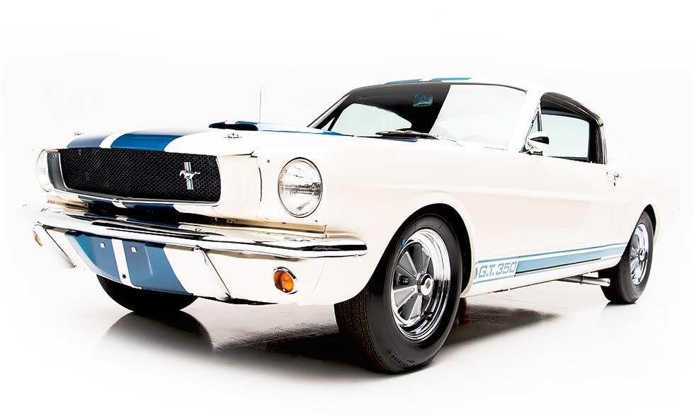 1965 Mustang Shelby GT350 reborn in 2018