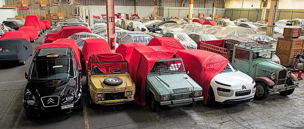 Collectors go crazy for Citroëns