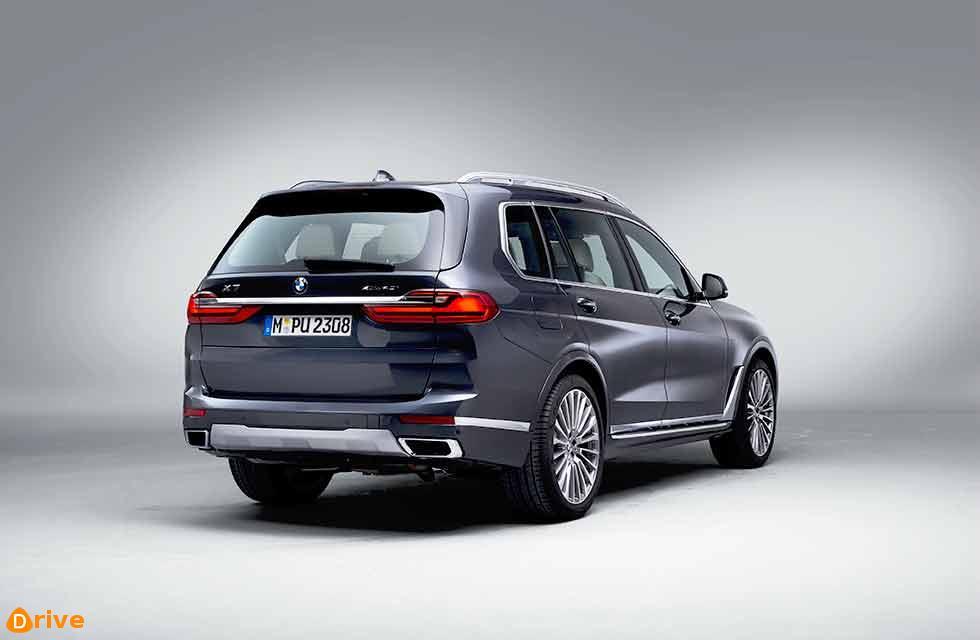 BMW First ever X7