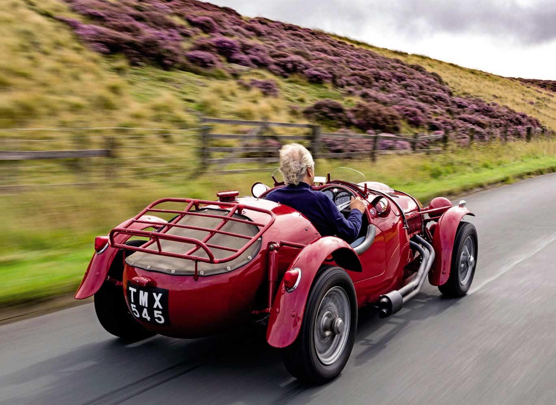 1949 Frazer Nash High Speed road test