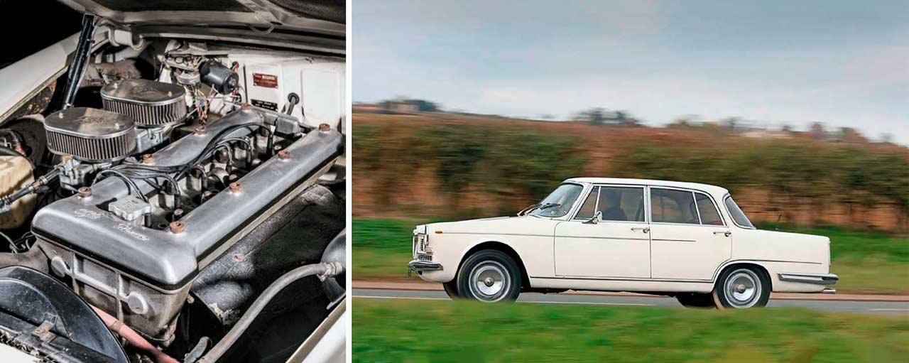 1964 Alfa Romeo 2600 Berlina Tipo 106 engine