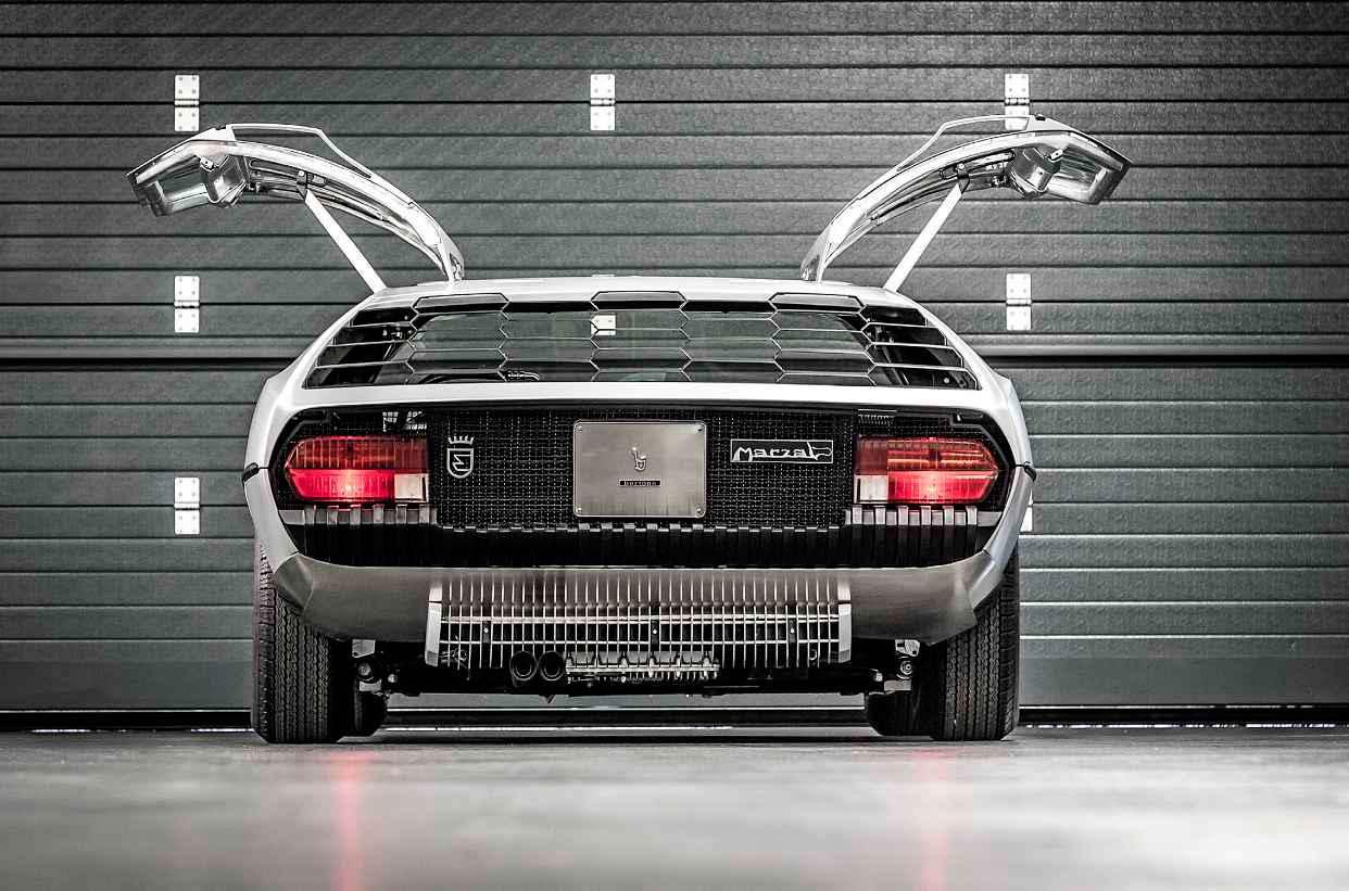 1967 Lamborghini Marzal rear