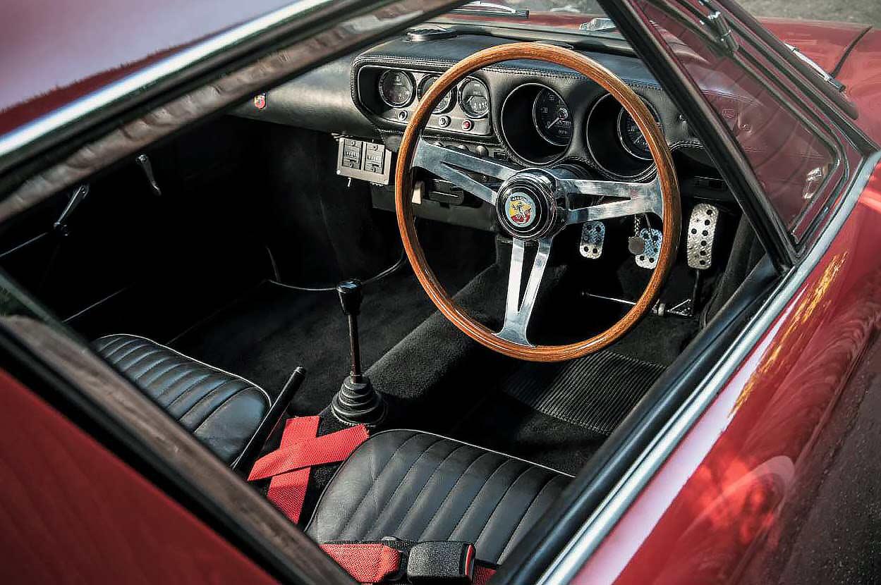 1968 Radbourne Abarth 1300 interior
