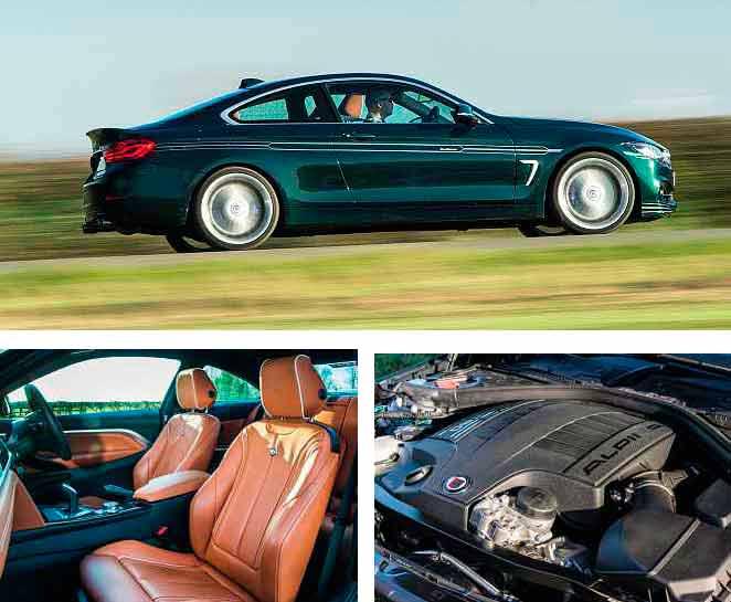 2018 Alpina B4 S Biturbo F32 - BMW 440i F32 based tuning coupe road test