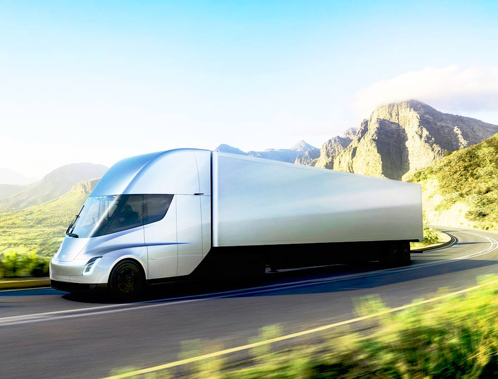2018 Tesla Semi unveiled