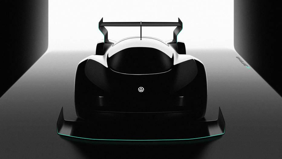 2018 Volkswagen Pikes Peak electric race car