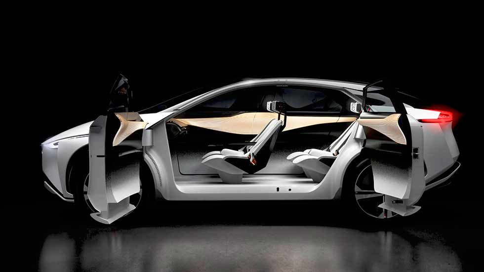 2018 Nissan IMx Concept Debuts With Bold Look, 373-Mile Range